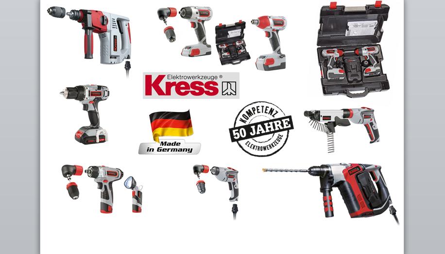 Kress - 50 години опит в областта на електроинструментите