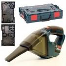 Акумулаторна прахосмукачка BOSCH GAS 12V Professional, Solo - без батерии и зарядно, куфар L-Boxx