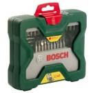 Комплект свредла с шестостенна опашка и битове BOSCH X-Line, 43 части