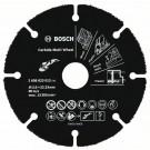 Карбиден мултидиск BOSCH Multi Wheel за рязане на дърво и пластмаса с ъглошлайф, Ф115