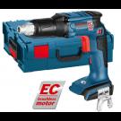 Акумулаторен винтоверт за сухо строителство BOSCH GSR 18 V-EC TE Professional, Solo, без батерии и зарядно устройство
